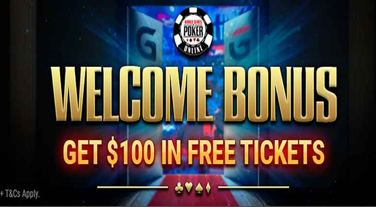 Use the Bonus Code: KNOSSI to get $100 in free WSOP Tickets